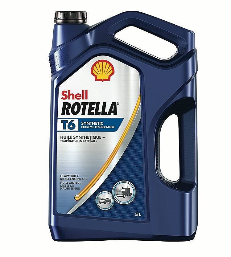 Rotella T6 can