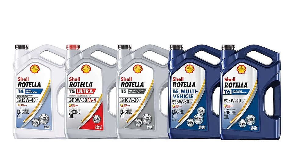 Shell Rotella Diesel Oil Products: Diesel Engine Oils and More
