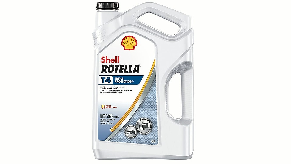 Shell Rotella® T4 Triple Protection Diesel Oil