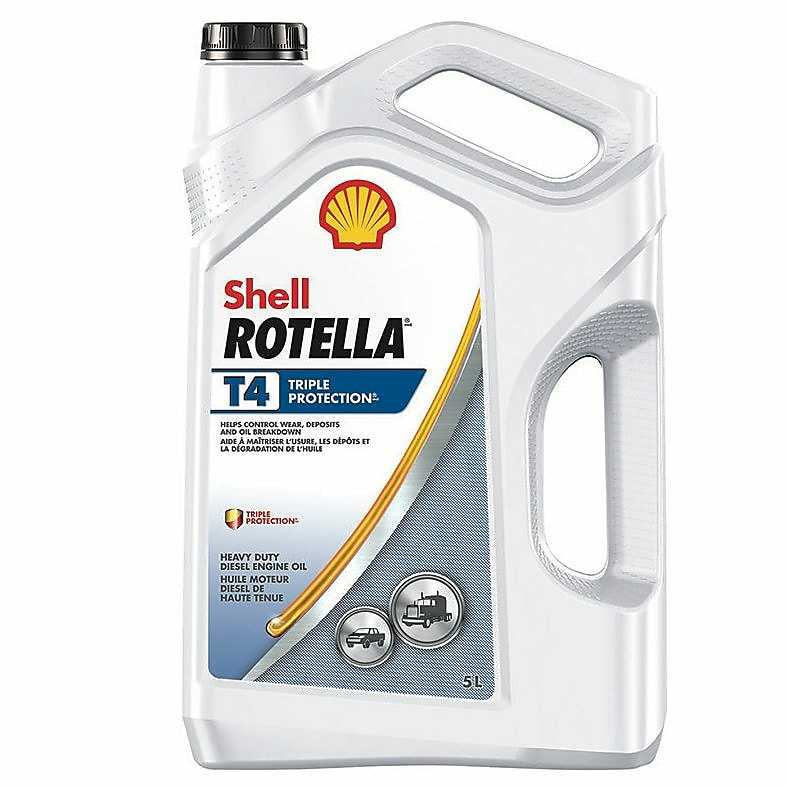 Shell Rotella T4 >> Shell Rotella T4 Triple Protection Diesel Engine Oil