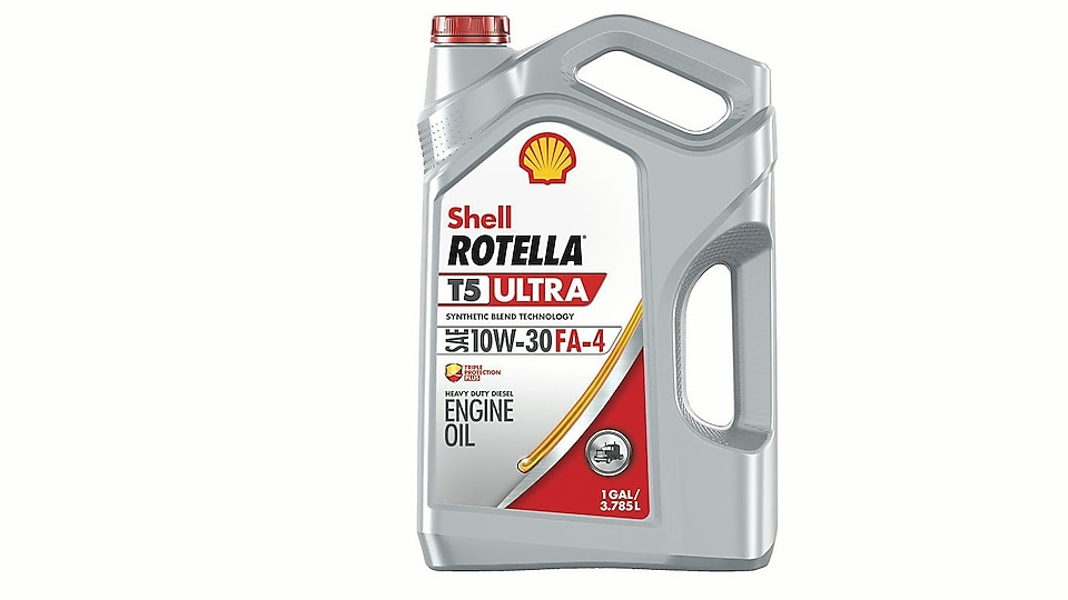 Shell Rotella T5 Ultra Synthetic Diesel Blend Oil