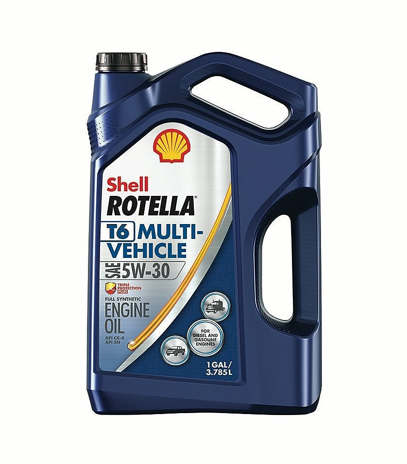 Shell ROTELLA® T6 Multi-Vehicle 5w-30 Full Synthetic Heavy Duty