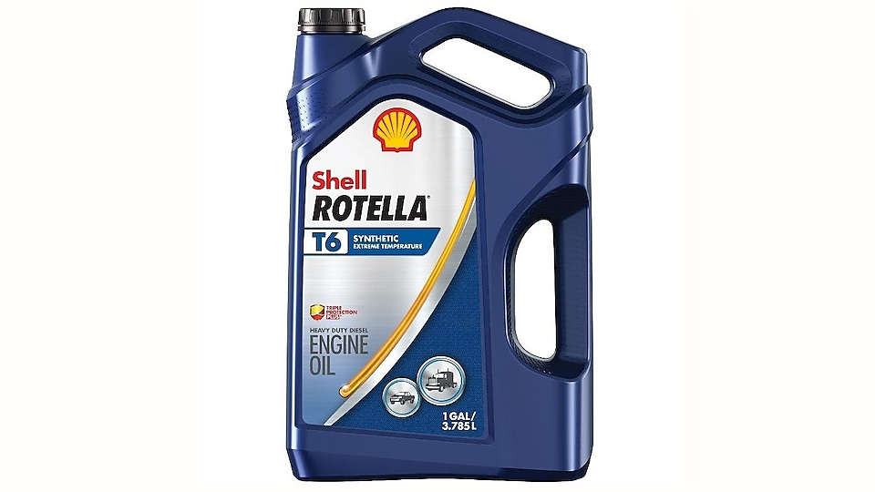 Shell Rotella T6 Full Synthetic Diesel Oil
