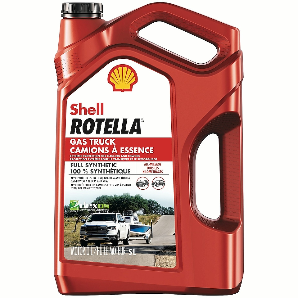Synthetic Motor Oil | Shell Rotella® Gas Truck Synthetic Engine Oil