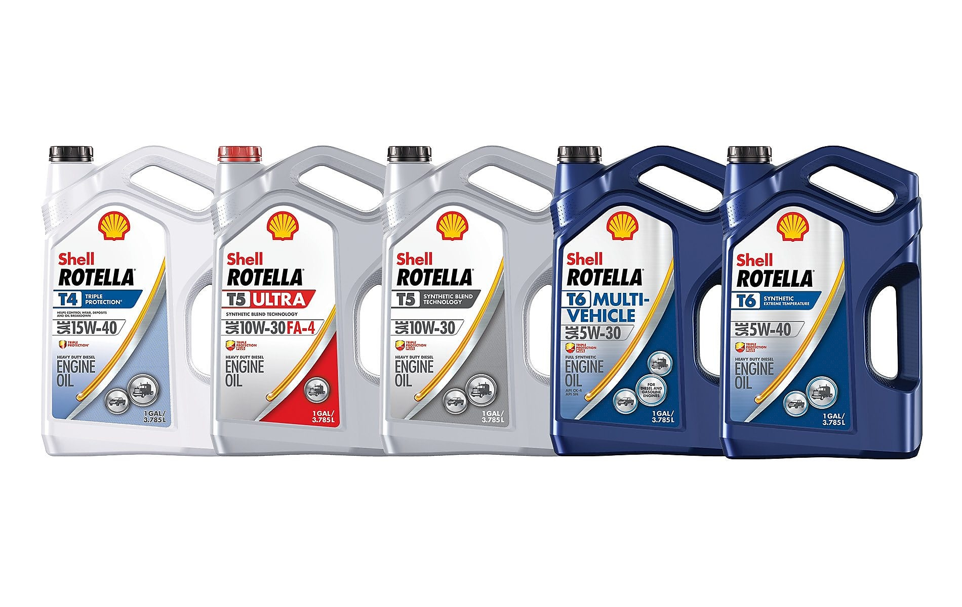 Products: Heavy Duty Diesel Engine Oil | Shell ROTELLA®