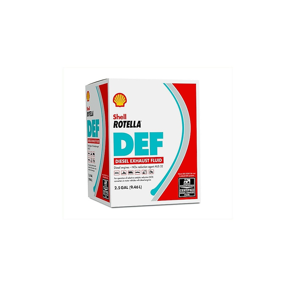 Shell Rotella™ DEF Diesel Exhaust Fluid | Shell Rotella