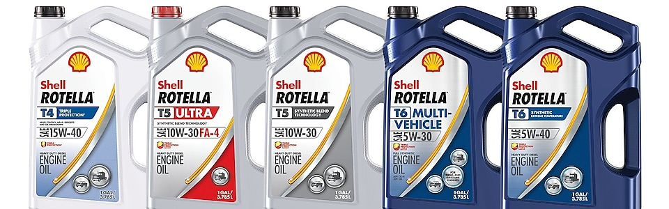 Shell Rotella Product family