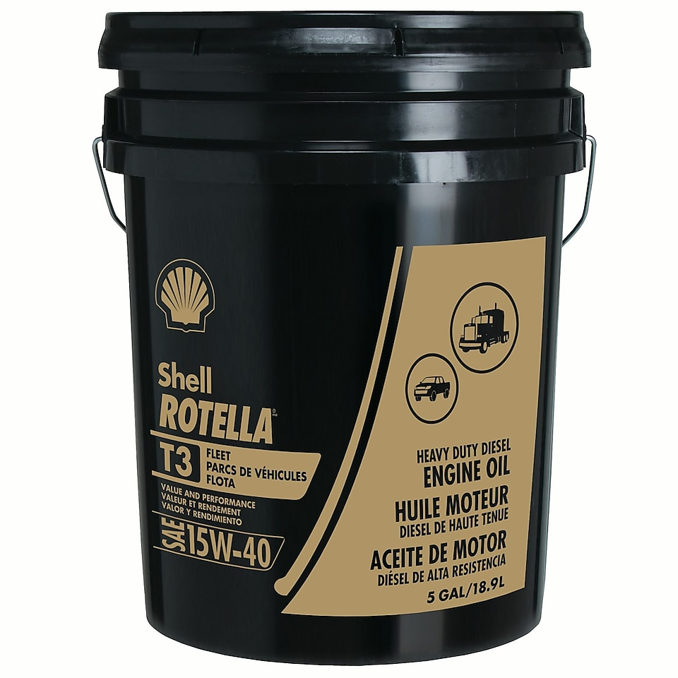 Shell Rotella® T3 Heavy Duty Engine Oil